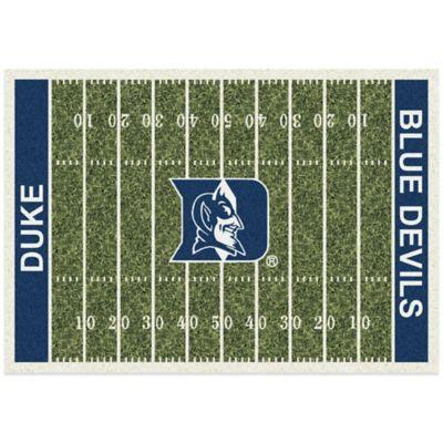 Duke University 3-Foot 10-Inch x 5-Foot 4-Inch Small Home Field Rug