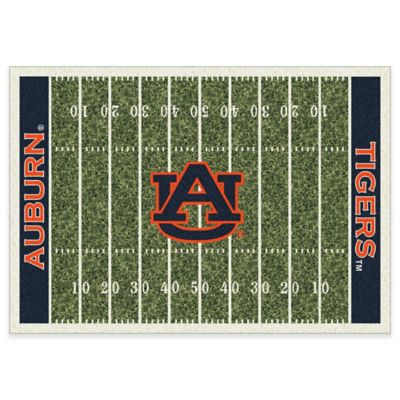 Auburn University 5-Foot 4-Inch x 7-Foot 8-Inch Medium Home Field Rug