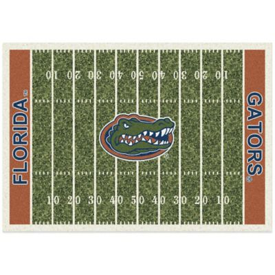University of Florida 7-Foot 8-Inch x 10-Foot 9-Inch Large Home Field Rug