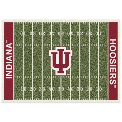 Indiana University 3-Foot 10-Inch x 5-Foot 4-Inch Small Home Field Rug