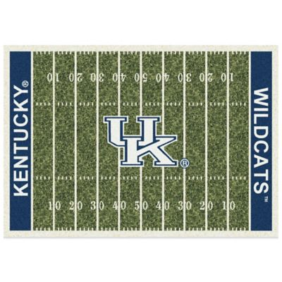University of Kentucky 3-Foot 10-Inch x 5-Foot 4-Inch Small Home Field Rug