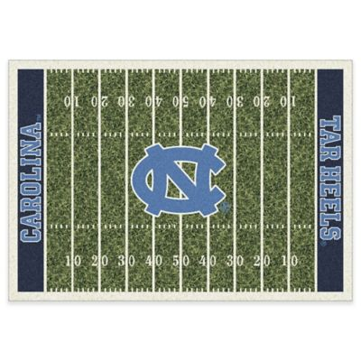 University of North Carolina 7-Foot 8-Inch x 10-Foot 9-Inch Large Home Field Rug