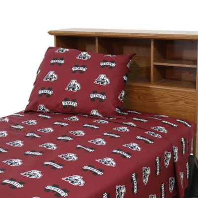 Mississippi State University Queen Sheet Set
