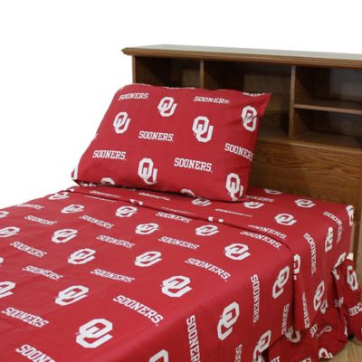 University of Oklahoma King Sheet Set