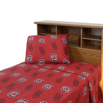University of South Carolina Twin Sheet Set