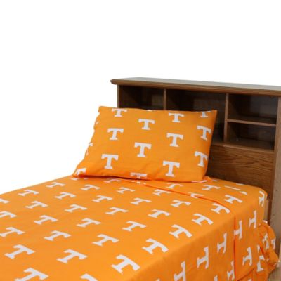 University of Tennessee Queen Sheet Set