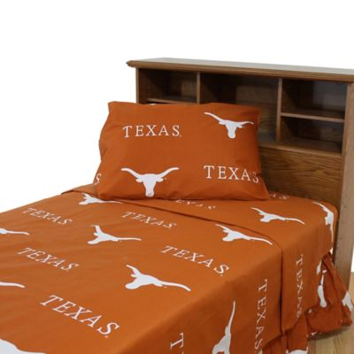 University of Texas Queen Sheet Set