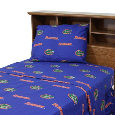 University of Florida Twin Sheet Set