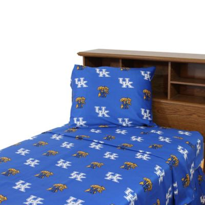University of Kentucky Queen Sheet Set