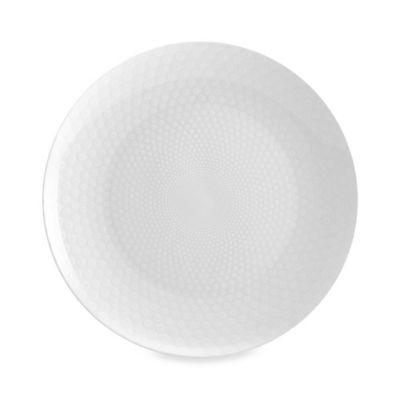 12 White Round Platter
