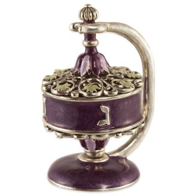 Quest Collection Filigree Dreidel with Stand