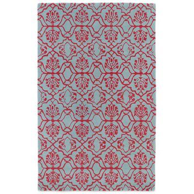 Kaleen Evolution 8-Foot x 11-Foot EVL01 Rug in Pink
