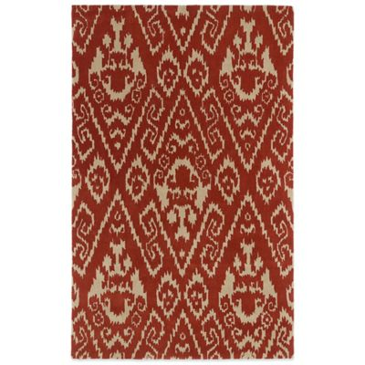 Kaleen Evolution 2-Foot 3-Inch x 8-Foot EVL02 Rug in Watermelon