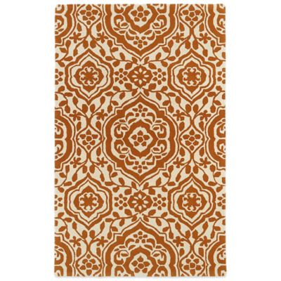 Kaleen Evolution 5-Foot x 7-Foot 9-Inch EVL04 Rug in Yellow