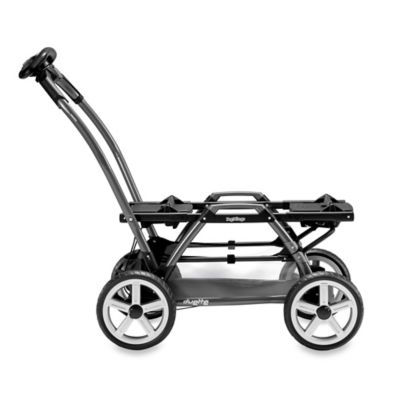 Peg Perego Duette SW Stroller Chassis in Charcoal