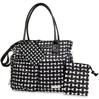 Black Bow Diaper Bags