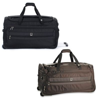 DELSEY Helium Hyperlite 28-Inch Wheeled Duffle Bag in Black
