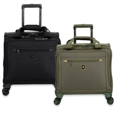 buy delsey helium sky spinner trolley tote in black from bed bath beyond. Black Bedroom Furniture Sets. Home Design Ideas