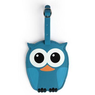 Kikkerland Whoo Owl Luggage Tag