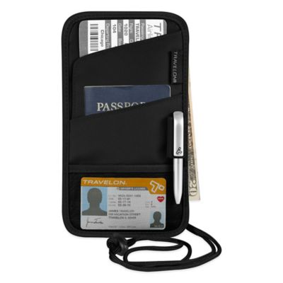 Travelon ID and Boarding Pass Holder