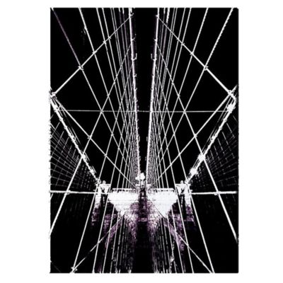 David Clapp Brooklyn Bridge Structure Canvas Wall Art