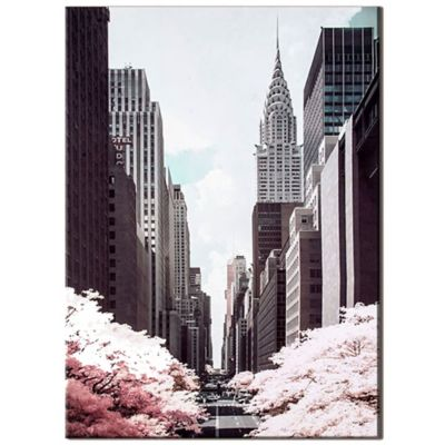 David Clapp 42nd Street Canvas Wall Art