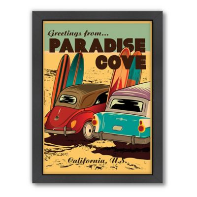 "Americanflat ""Paradise Cove"" Digital Print Wall Art"