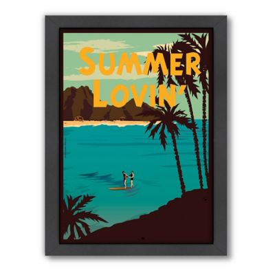 "Americanflat ""Summer Lovin'"" Digital Print Wall Art"