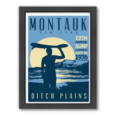 Americanflat Montauk Surf Contest Digital Print Wall Art