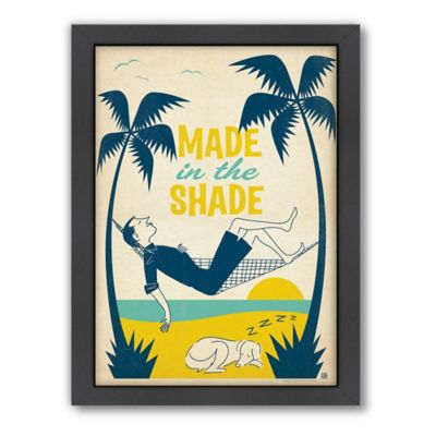 "Americanflat ""Made in the Shade"" Digital Print Wall Art"