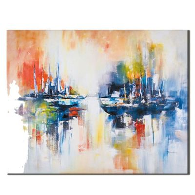 """Sailing on the Open Water"" Canvas Art"