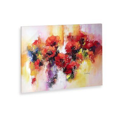 Marie Josee Flora Canvas Wall Art