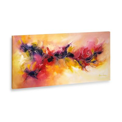 Marie Josee Abstract Scroll Canvas Wall Art