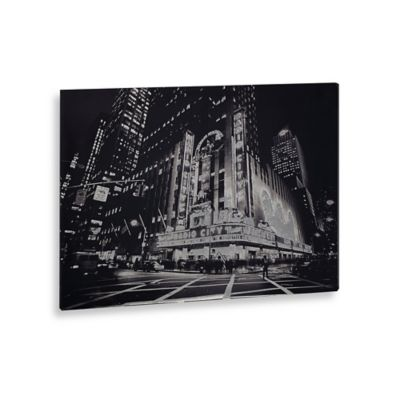 """City Lights"" Canvas Art"