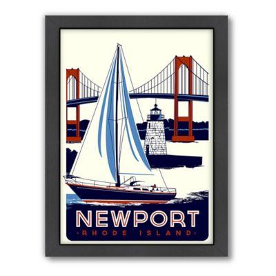 "Americanflat ""Newport, Rhode Island"" Digital Print Wall Art"