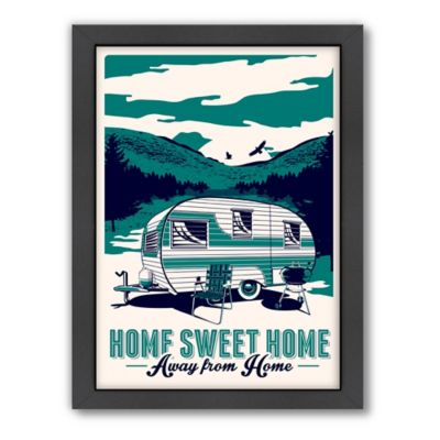 "Americanflat ""Home Sweet Home Away From Home"" Digital Print Wall Art"