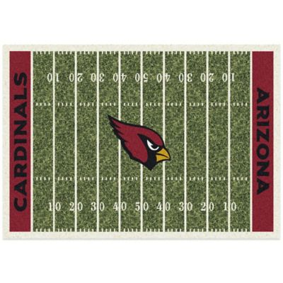 NFL Arizona Cardinals 7-Foot 8-Inch x 10-Foot 9-Inch Large Home Field Rug