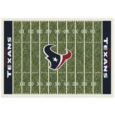 NFL Houston Texans 3-Foot 10-Inch x 5-Foot 4-Inch Small Home Field Rug