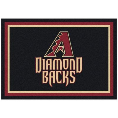 MLB Arizona Diamondbacks 5-Foot 4-Inch x 7-Foot 8-Inch Medium Spirit Rug