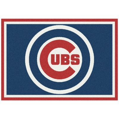 MLB Chicago Cubs 7-Foot 8-Inch x 10-Foot 9-Inch Large Spirit Rug