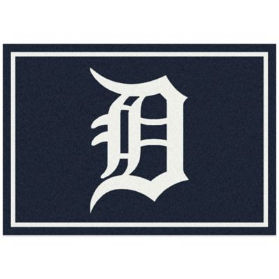 MLB Detroit Tigers 7-Foot 8-Inch x 10-Foot 9-Inch Large Spirit Rug