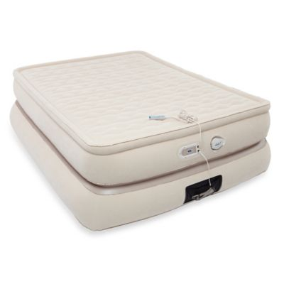 AeroBed® Luxury Collection 24-Inch Raised Mattress-Style Queen Pillowtop Inflatable Bed