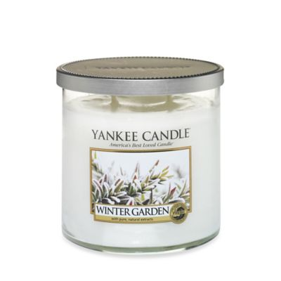 Yankee Candle® Winter Garden Medium Tumbler Candle
