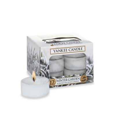 Yankee Candle® Winter Garden Tea Lights
