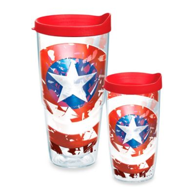 Tervis® Marvel® Captain America's Shield 16-Ounce Wrap Tumbler with Lid