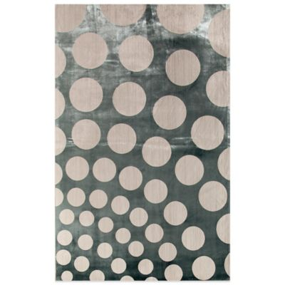 Rugs America Ambrose Spheres 26-Inch x 91-Inch Area Rug in Blue