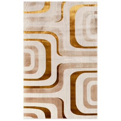 Rugs America Ambrose 2-Foot 2-Inch x 7-Foot 7-Inch Accent Rug in Flo Blue