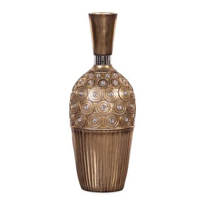 Howard Elliott® Gold Gem Studded Small Vase