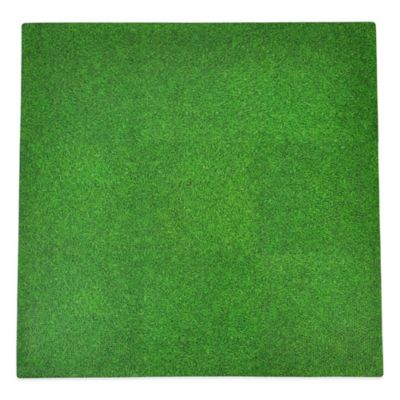 Tadpoles Grass Print 9-Piece Floor Mat Set