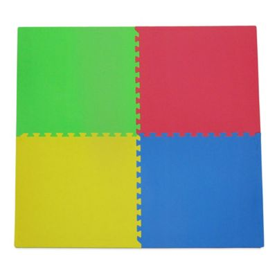 Tadpoles 4-Piece Playmat Set in Primary Multicolor